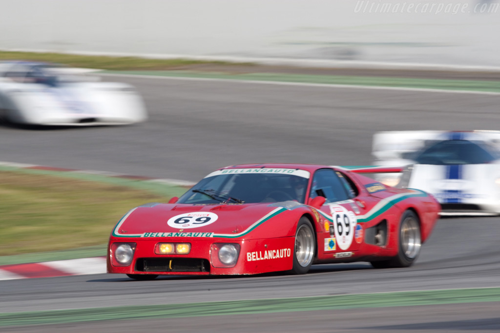 Ferrari 512 BB LM - Chassis: 28601 - Driver: Mr John of B  - 2009 Le Mans Series Catalunya 1000 km