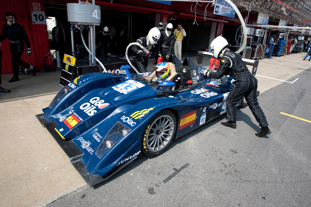 Finally repaired after the puncture - Chassis: 165   - 2009 Le Mans Series Catalunya 1000 km