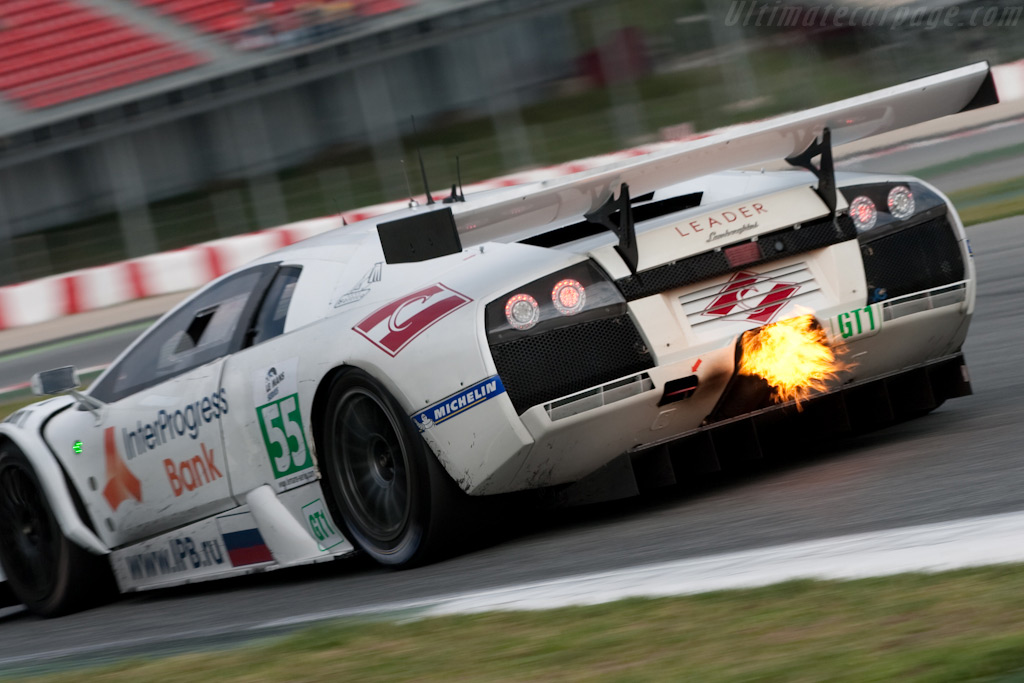 Fire in the hole! - Chassis: LB01-007   - 2009 Le Mans Series Catalunya 1000 km