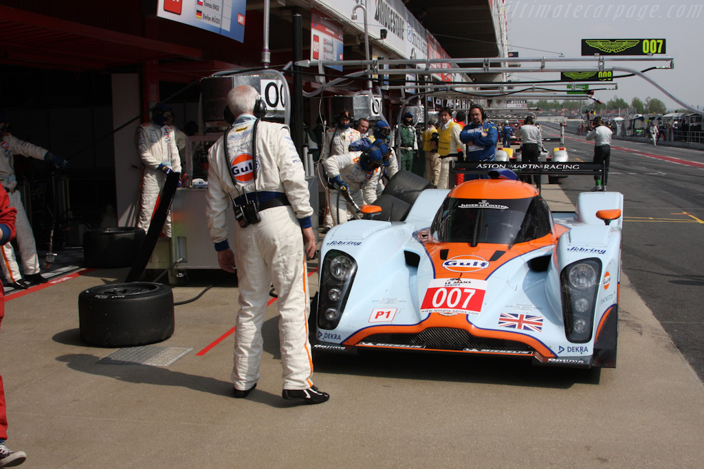 Fuel and tires - Chassis: B0960-HU02   - 2009 Le Mans Series Catalunya 1000 km
