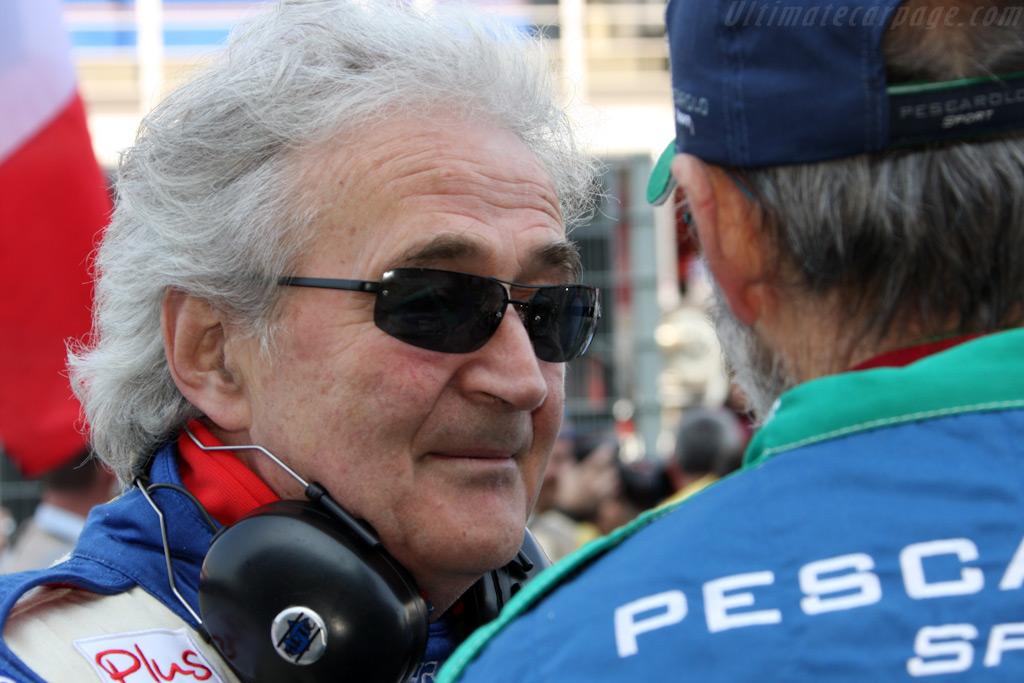 Hughes de Chaunac with Henri Pescarolo    - 2009 Le Mans Series Catalunya 1000 km