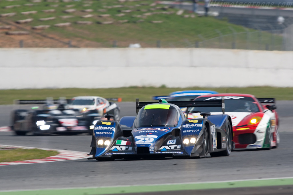 Impressive debut from Racing Box in LMP2 - Chassis: B0980-HU05   - 2009 Le Mans Series Catalunya 1000 km