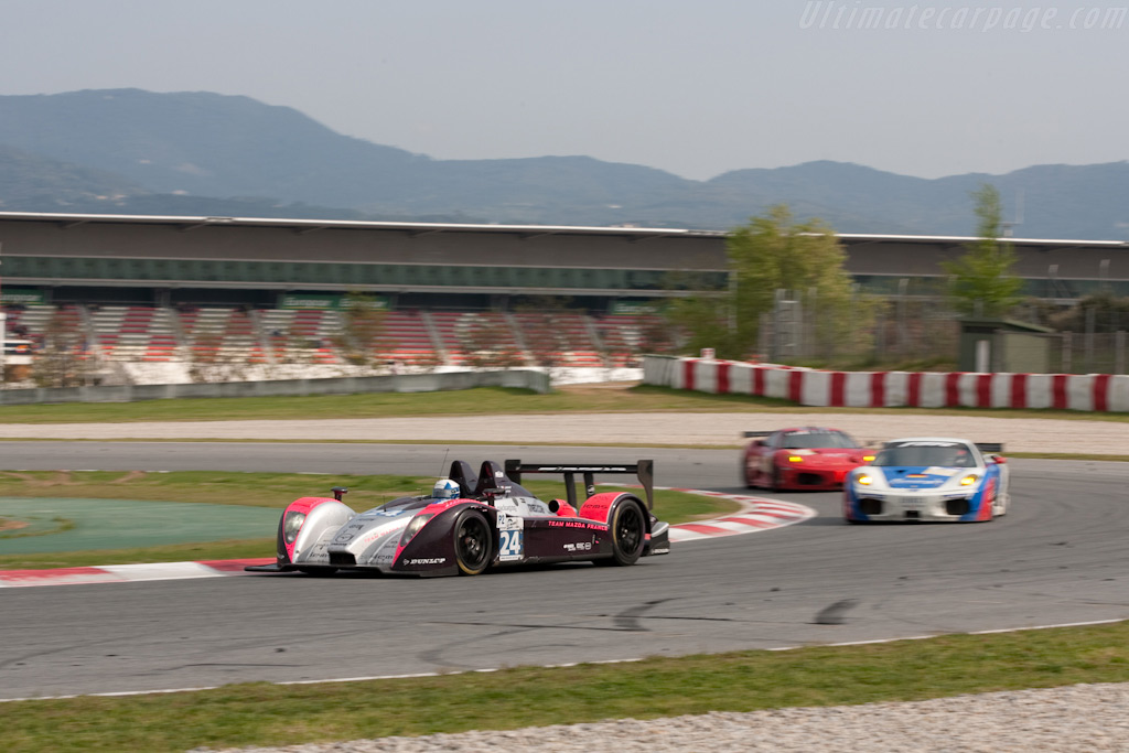 It's a colorful bunch - Chassis: 09S-04   - 2009 Le Mans Series Catalunya 1000 km