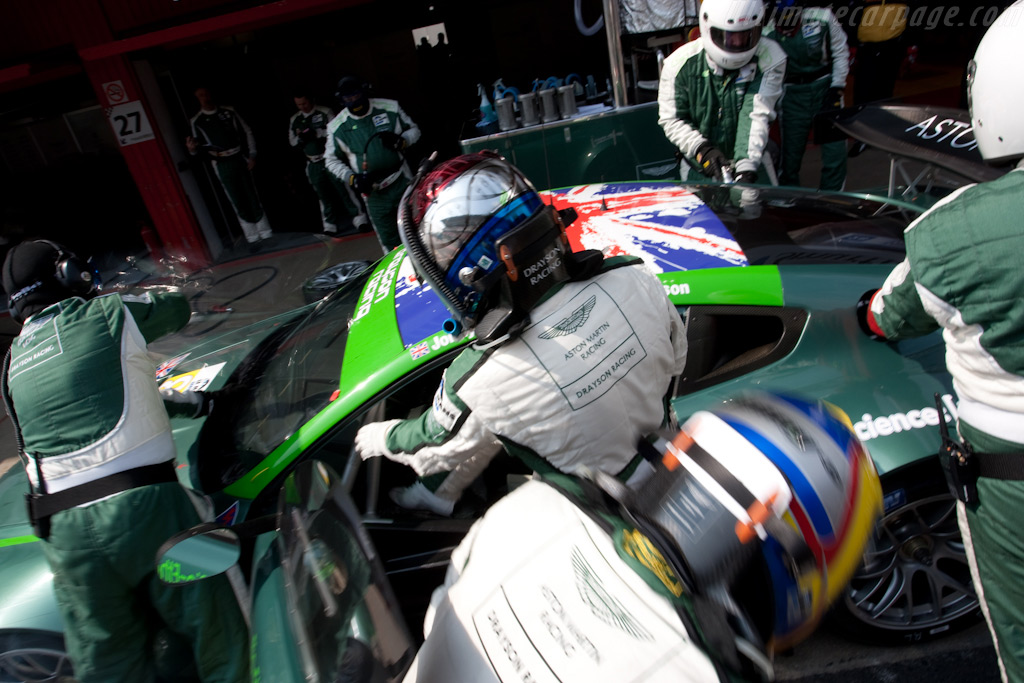 Johnny Cocker out, Lord Drayson in - Chassis: GT2/002   - 2009 Le Mans Series Catalunya 1000 km