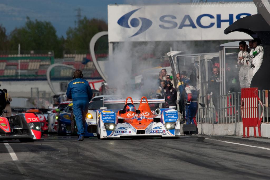 Lola B05/40 Mazda    - 2009 Le Mans Series Catalunya 1000 km