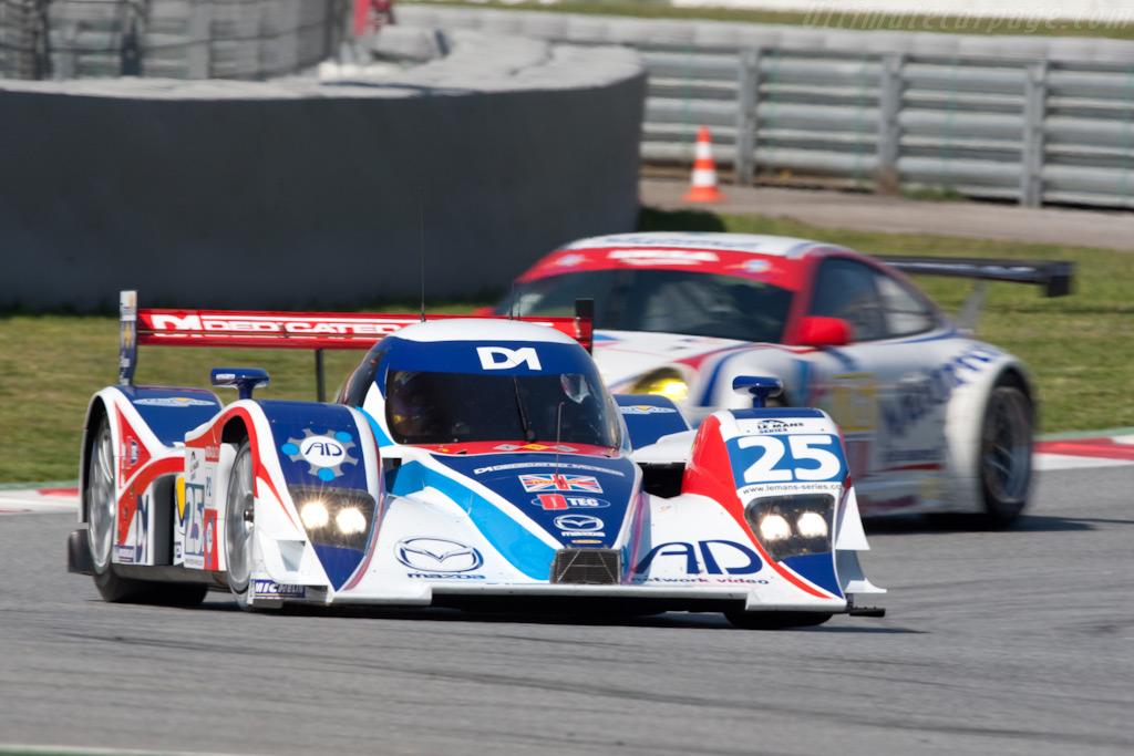 Lola B08/80 Mazda - Chassis: B0880-HU03   - 2009 Le Mans Series Catalunya 1000 km