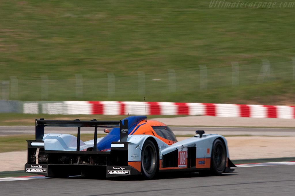 Note the Aston tail lights - Chassis: B0860-HU02   - 2009 Le Mans Series Catalunya 1000 km