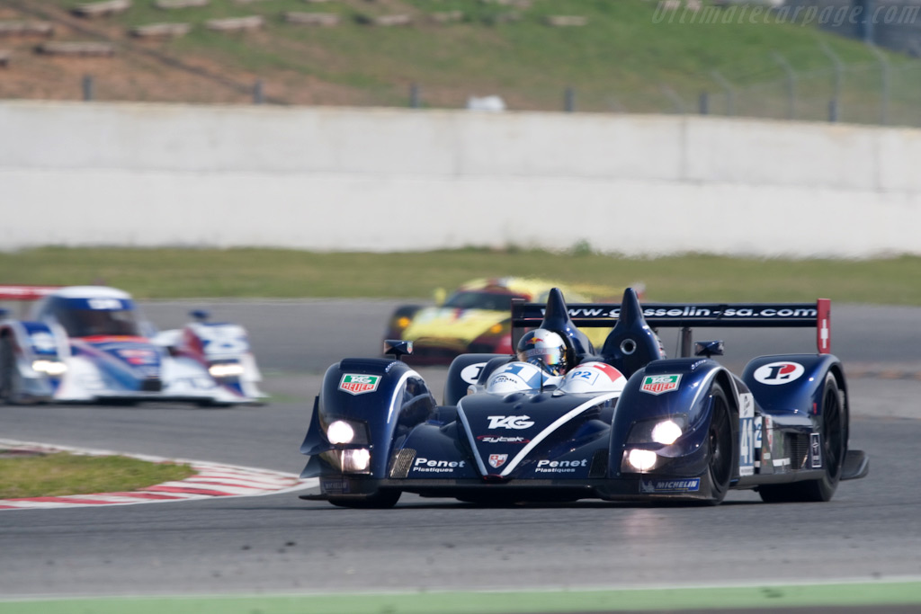 Phillipp Peter's debut in the Ginetta-Zytek - Chassis: 07S-03   - 2009 Le Mans Series Catalunya 1000 km