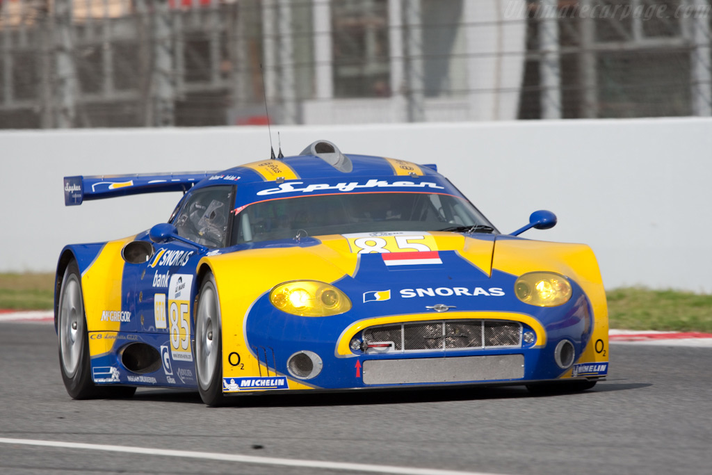 Spyker C8 Laviolette GT2-R - Chassis: XL9AB01G37Z363190   - 2009 Le Mans Series Catalunya 1000 km