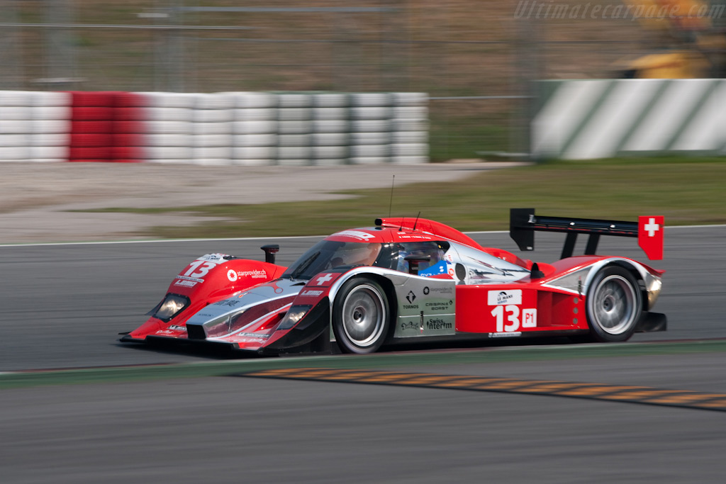 Striking livery for the Speedy Lola-Aston - Chassis: B0860-HU01   - 2009 Le Mans Series Catalunya 1000 km