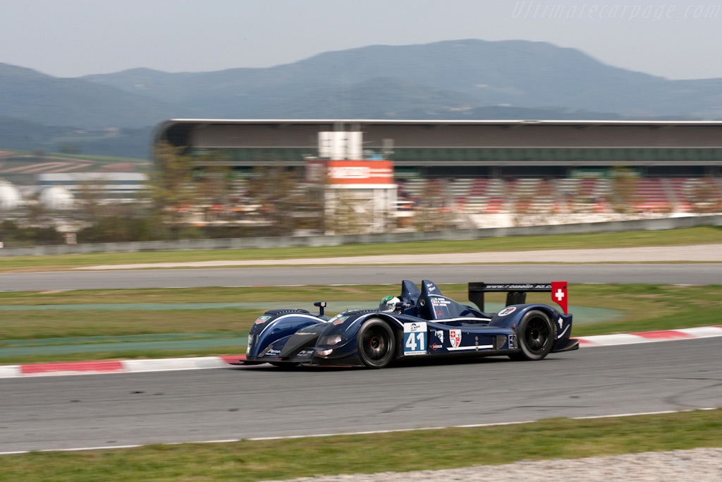 The GAC Ginetta-Zytek repaired - Chassis: 07S-03   - 2009 Le Mans Series Catalunya 1000 km