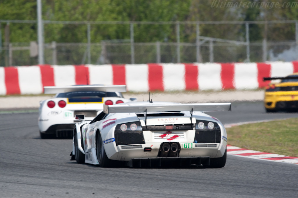 The GT1 leaders - Chassis: LB01-007   - 2009 Le Mans Series Catalunya 1000 km