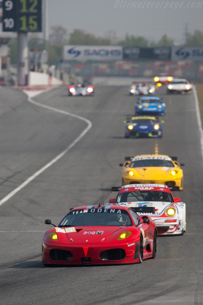 The GT2 leaders - Chassis: 2636   - 2009 Le Mans Series Catalunya 1000 km