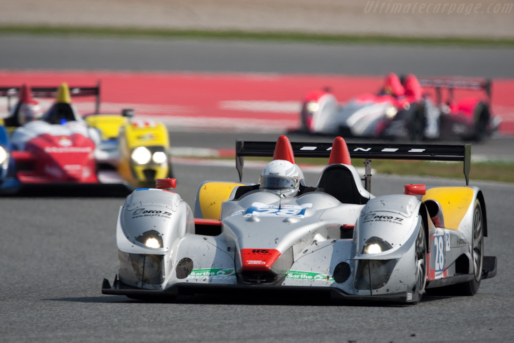 The Ibanez Racing System Courage - Chassis: LC70-2   - 2009 Le Mans Series Catalunya 1000 km
