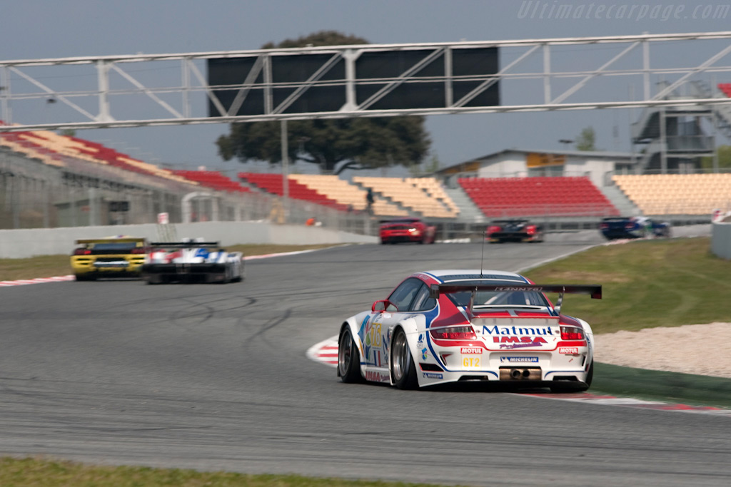 The Matmut-IMSA Porsche was an early GT2 leader - Chassis: WP0ZZZ99Z9S799915   - 2009 Le Mans Series Catalunya 1000 km