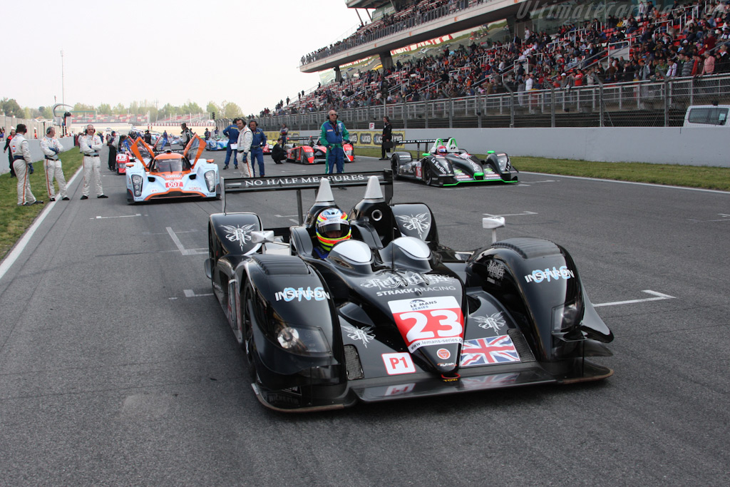 The grid - Chassis: 09S-04   - 2009 Le Mans Series Catalunya 1000 km