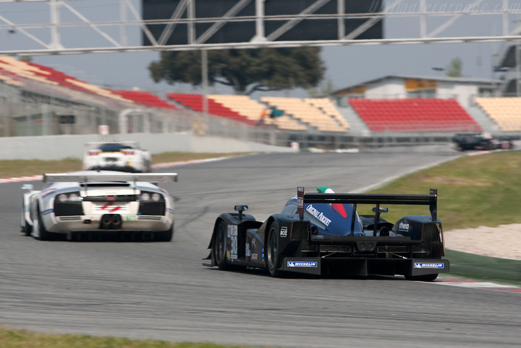 The track was never quiet - Chassis: B0980-HU04   - 2009 Le Mans Series Catalunya 1000 km