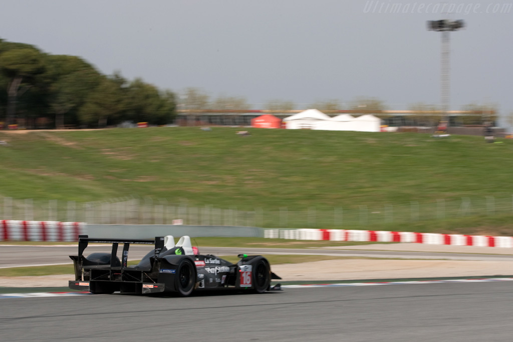 The windtunnel work clearly paid off - Chassis: 01-08   - 2009 Le Mans Series Catalunya 1000 km