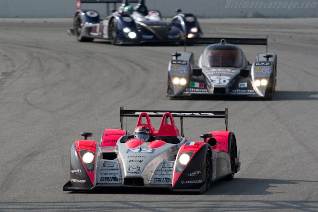 Three different LMP2 cars - Chassis: 01-06   - 2009 Le Mans Series Catalunya 1000 km