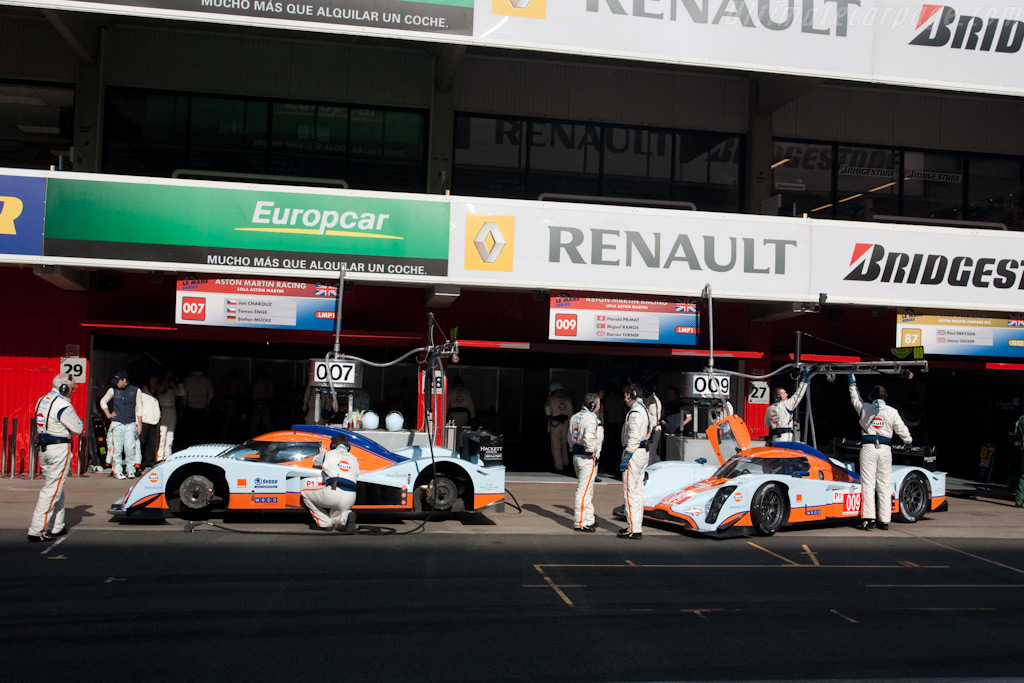 Welcome to the Circuit de Catalunya - Chassis: B0960-HU02   - 2009 Le Mans Series Catalunya 1000 km