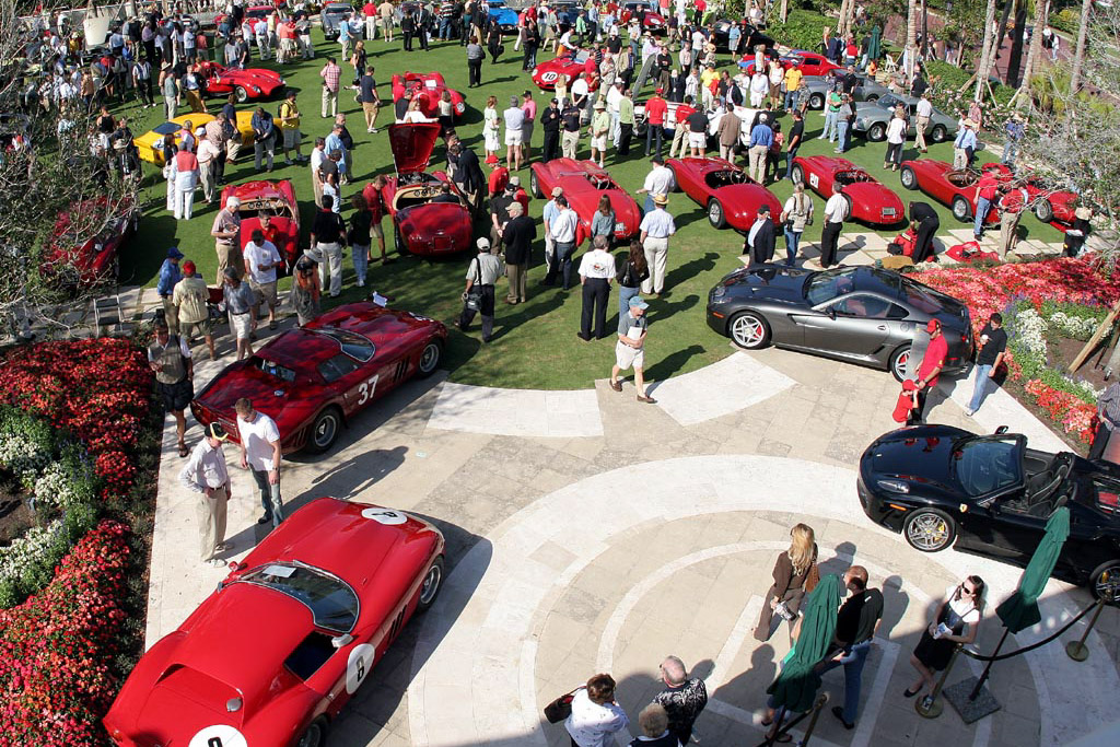 The immaculate lawns of The Breakers    - 2007 Cavallino Classic