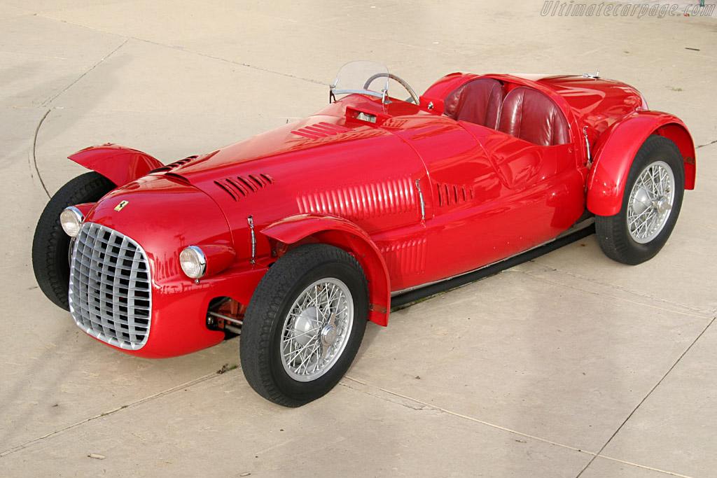 Ferrari 166 Spyder Corsa - Chassis: 004C - Entrant: James H. Clark  - 2006 Cavallino Classic