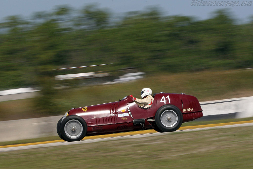 Alfa Romeo 8C 35 - Chassis: 50014 - Driver: Peter Greenfield  - 2008 Cavallino Classic