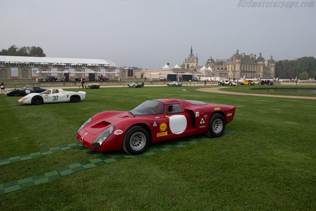 Alfa Romeo Tipo 33/2 Daytona Coupe - Chassis: 75033.008 - Entrant: Richard Mille  - 2014 Chantilly Arts & Elegance