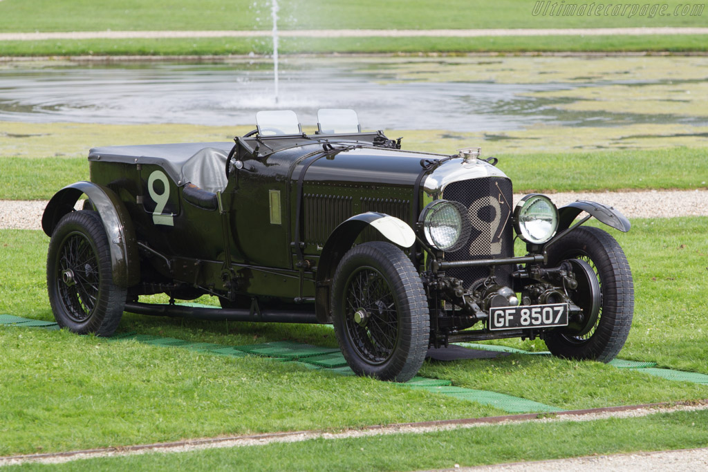 Bentley Speed Six Old No 2 Chassis Hm2868 Entrant