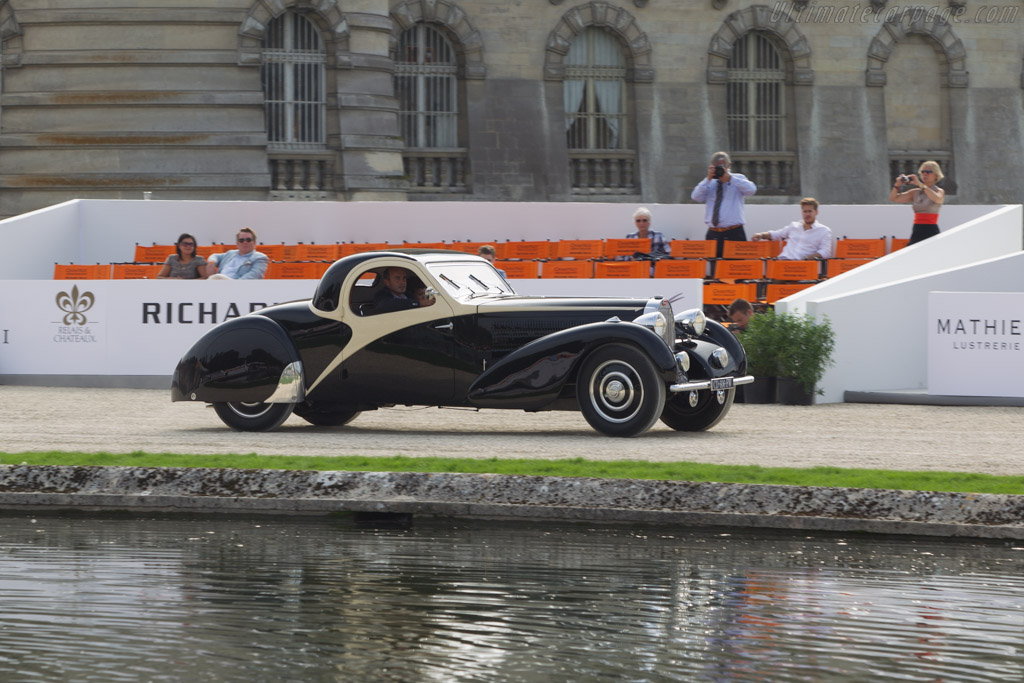 Bugatti Type 57 Atalante - Chassis: 57570 - Entrant: Frederic & Fanny Leroux  - 2014 Chantilly Arts & Elegance
