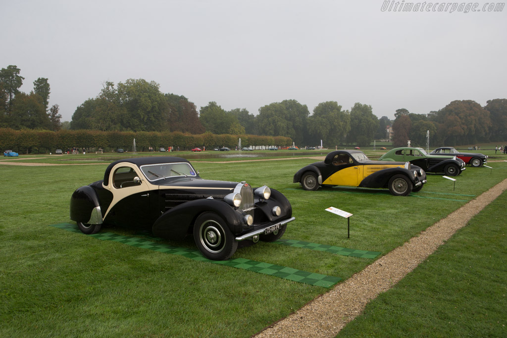 Bugatti Type 57 Atalante - Chassis: 57570 - Entrant: Frederic & Fanny Leroux  - 2014 Chantilly Arts & Elegance
