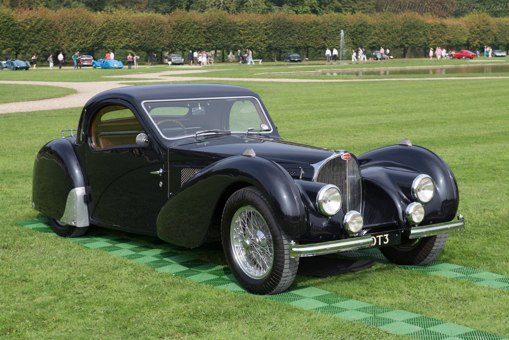 Bugatti Type 57 S Atalante - Chassis: 57502 - Entrant: Lukas Hüni - 2014 Chantilly Arts & Elegance