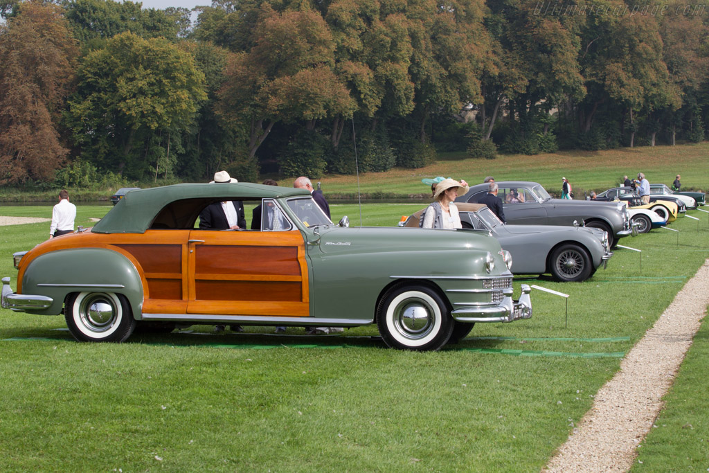 Chrysler Town & Country Convertible  - Entrant: Aleth Berchon  - 2014 Chantilly Arts & Elegance