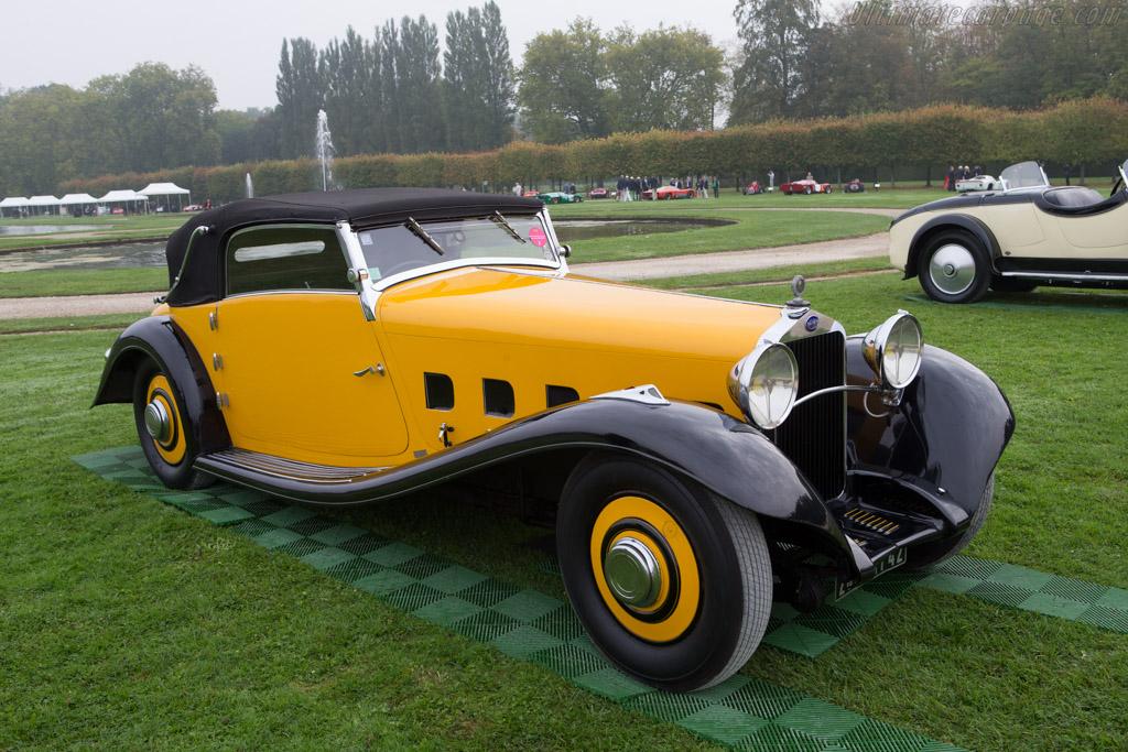 Delage D8 S Pourtout Cabriolet - Chassis: 38237 - Entrant: Jean Guikas  - 2014 Chantilly Arts & Elegance