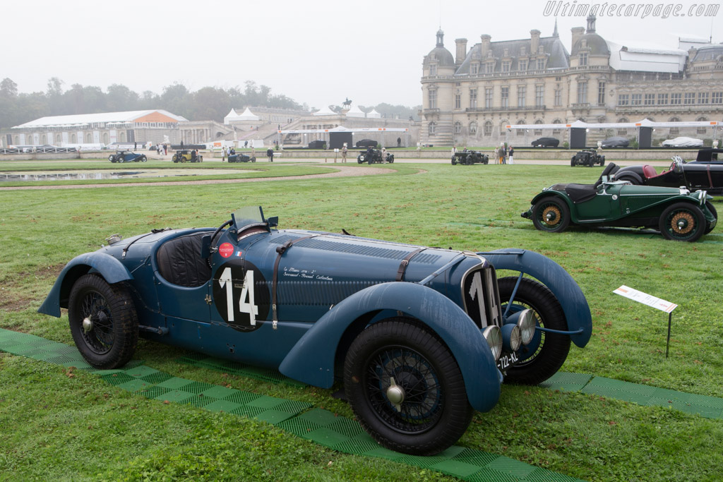 Delahaye 135 S - Chassis: 46084 - Entrant: Frederic & Fanny Leroux  - 2014 Chantilly Arts & Elegance