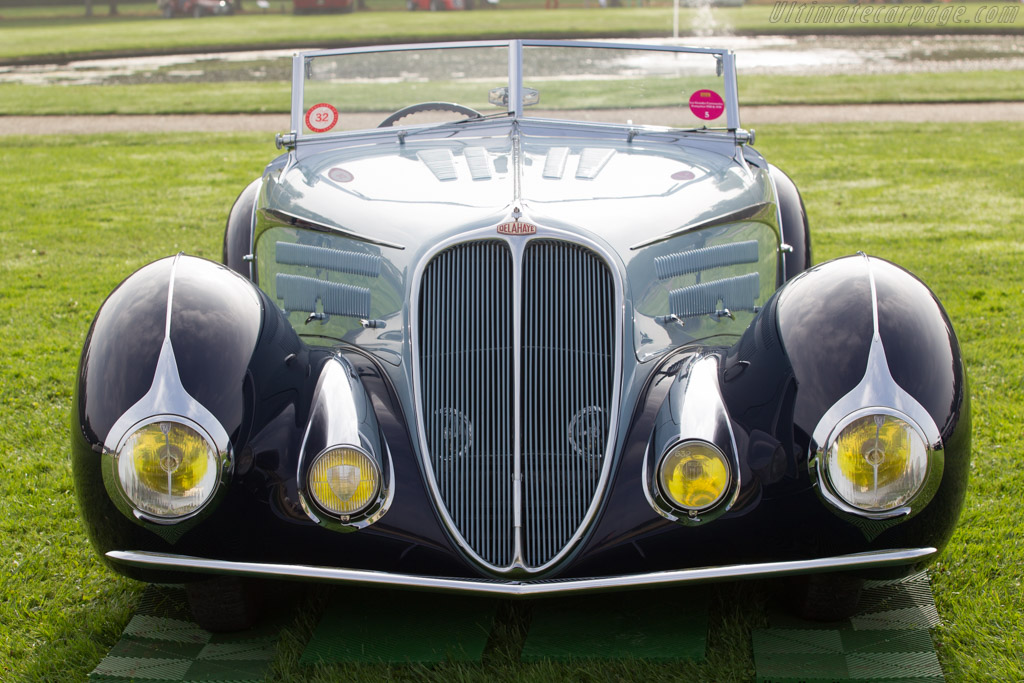 Delahaye 135M Figoni & Falaschi Cabriolet - Chassis: 49150 - Entrant: Peter & Merle Mullin  - 2014 Chantilly Arts & Elegance