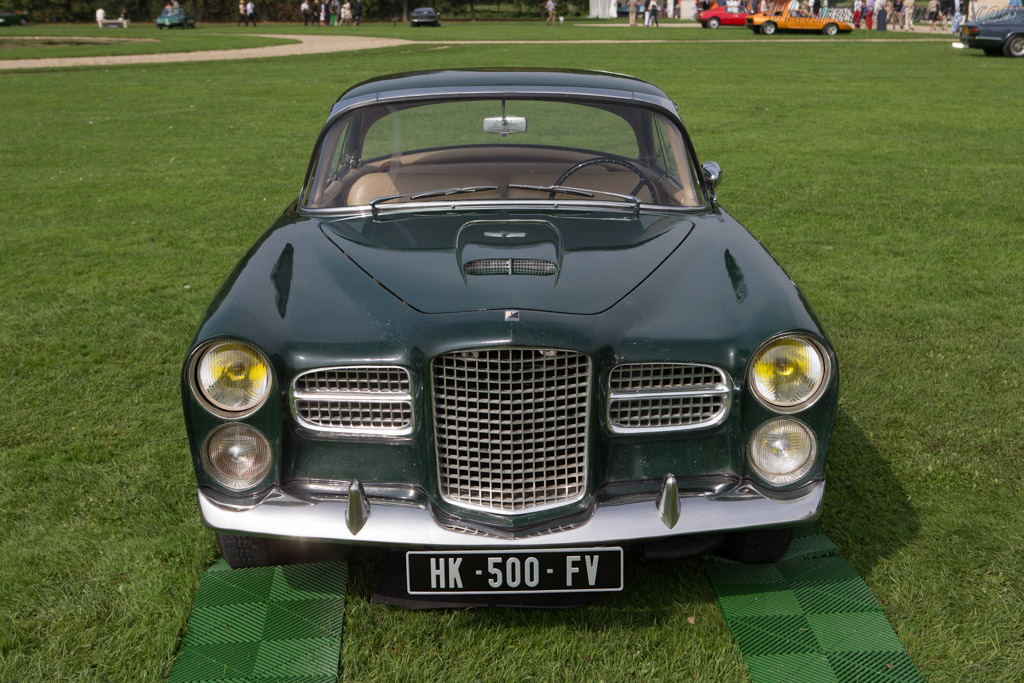 Facel Vega HK 500  - Entrant: Frederic Brun  - 2014 Chantilly Arts & Elegance