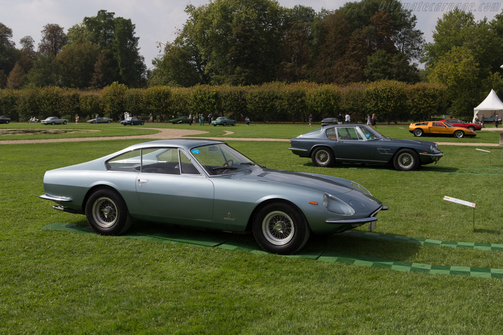 Ferrari 330 GTC Coupe Speciale - Chassis: 09439 - Entrant: Brandon Wang  - 2014 Chantilly Arts & Elegance