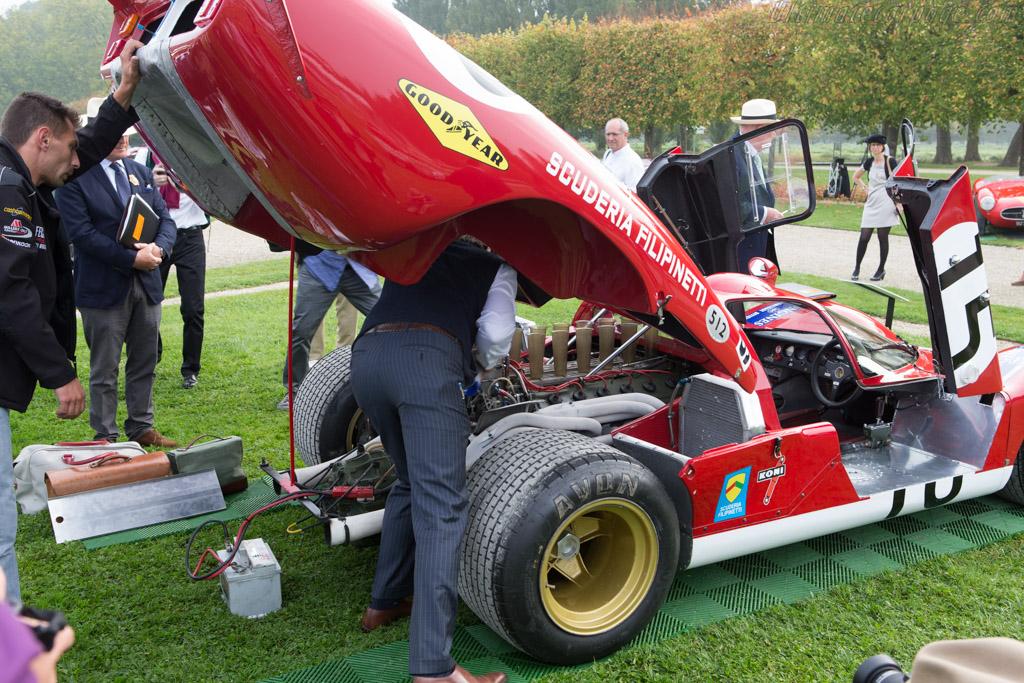 Ferrari 512 S Coda Lunga Chassis 1016 Entrant Franco