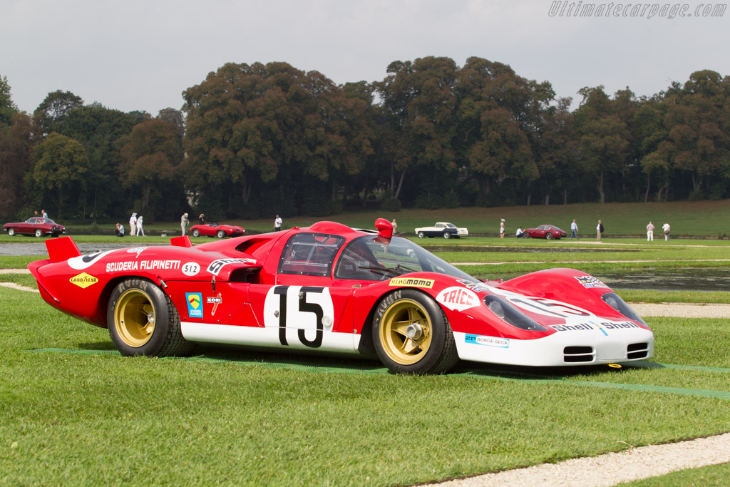 Ferrari 512 S Coda Lunga - Chassis: 1016 - Entrant: Franco Meiners  - 2014 Chantilly Arts & Elegance