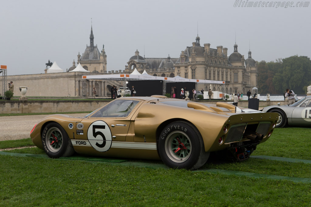Ford Gt40 Mkii Chassis Gt40p 1016 Entrant Claude And