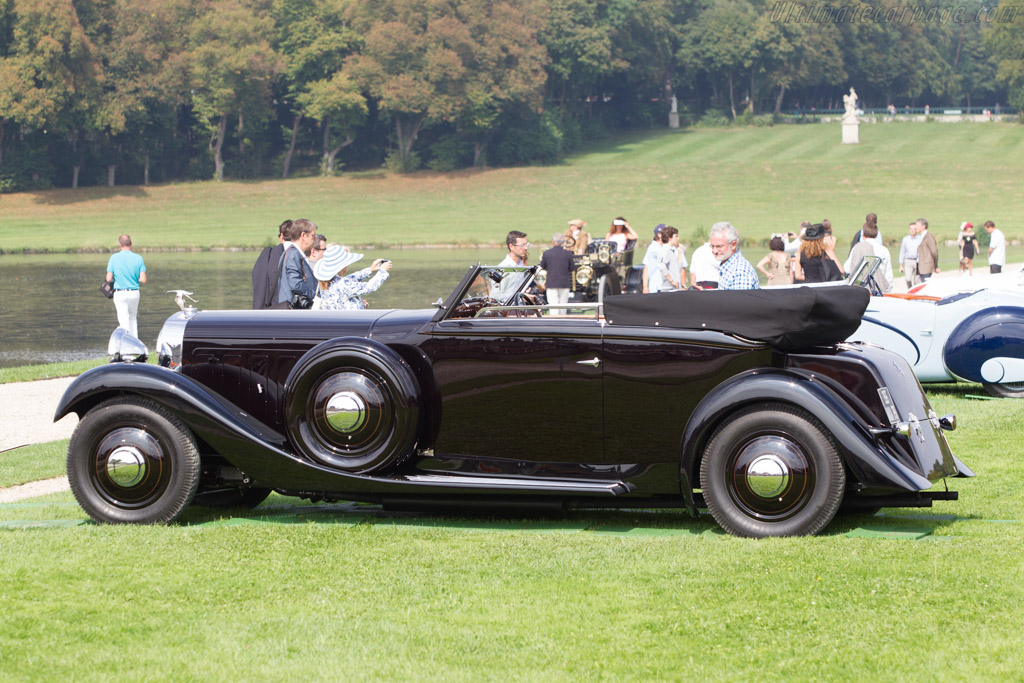 Hispano Suiza J12 Saoutchik Convertible Sedan - Chassis: 46018 - Entrant: William E. 'Chip' Connor  - 2014 Chantilly Arts & Elegance