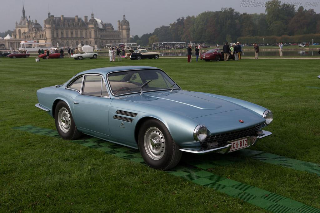 Jaguar D Type Michelotti Coupe   Entrant: Scuderia Blu   2014 Chantilly  Arts U0026 Elegance