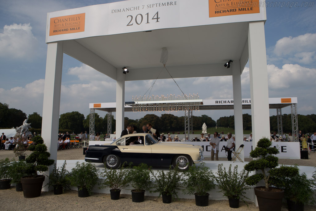 Jaguar XK140 Ghia Coupe  - Entrant: Bruno Beysens  - 2014 Chantilly Arts & Elegance