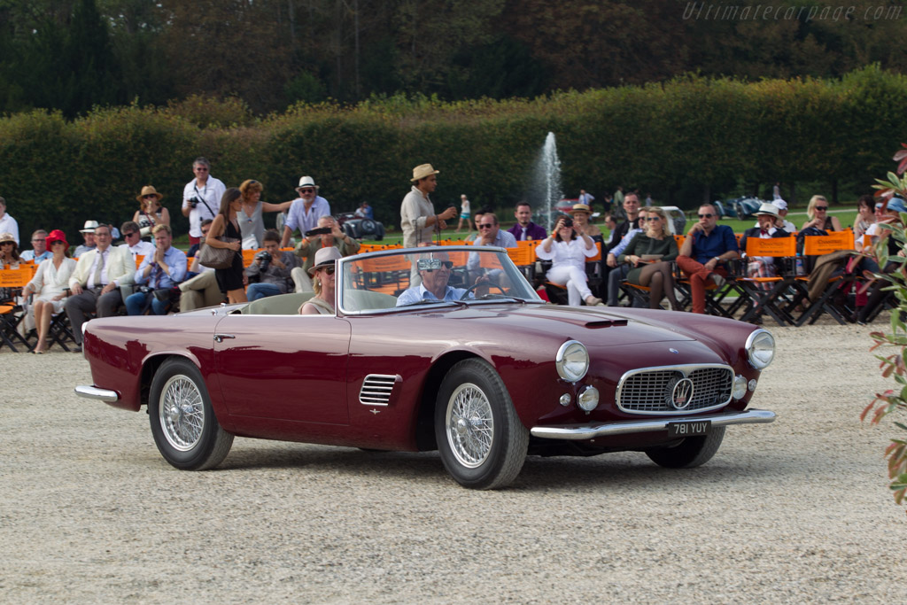 Maserati 3500 GT Touring Spider  - Entrant: Scuderia Blu  - 2014 Chantilly Arts & Elegance