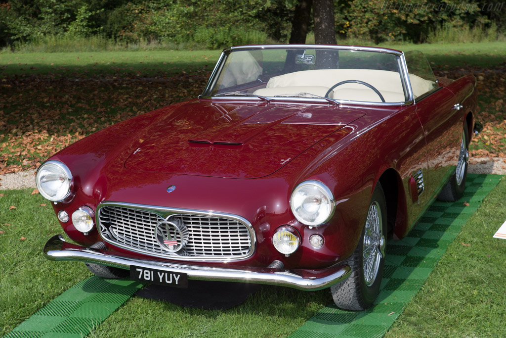 Maserati 3500 GT Touring Spider  - Entrant: Scuderia Blu  - 2014 Chantilly Arts & Elegance