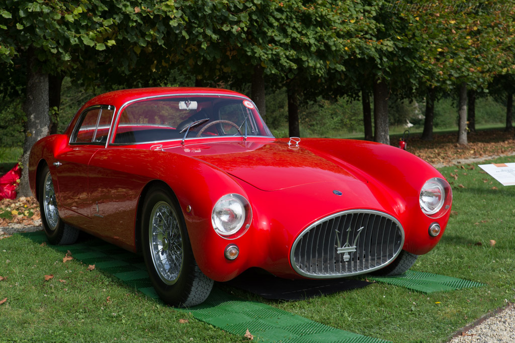 Maserati A6GCS/53 Pinin Farina Coupe - Chassis: 2056 - Entrant: Panini Collection  - 2014 Chantilly Arts & Elegance