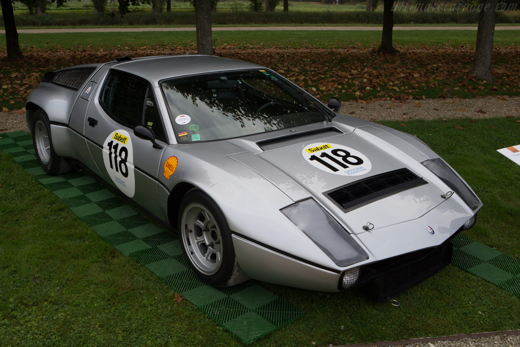 Maserati Bora Group IV - Chassis: 3000 - Entrant: Jean Guikas  - 2014 Chantilly Arts & Elegance