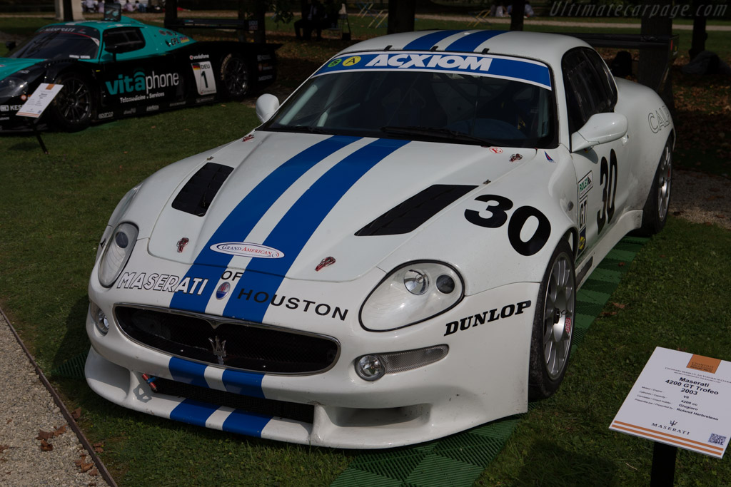 Maserati Coupe Trofeo  - Entrant: Roland Herbreteau  - 2014 Chantilly Arts & Elegance