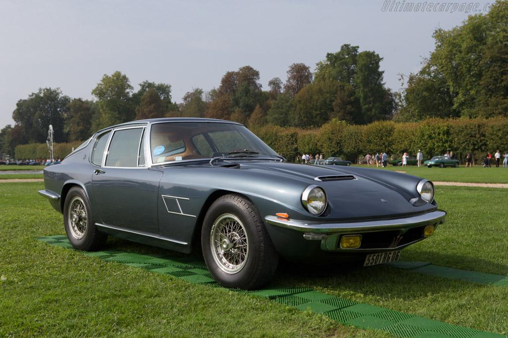 Maserati Mistral  - Entrant: Jean Guikas  - 2014 Chantilly Arts & Elegance
